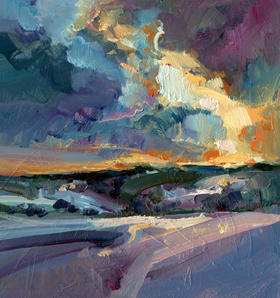 """""""On the Edge of West"""" original fine art by Anne Wood"""