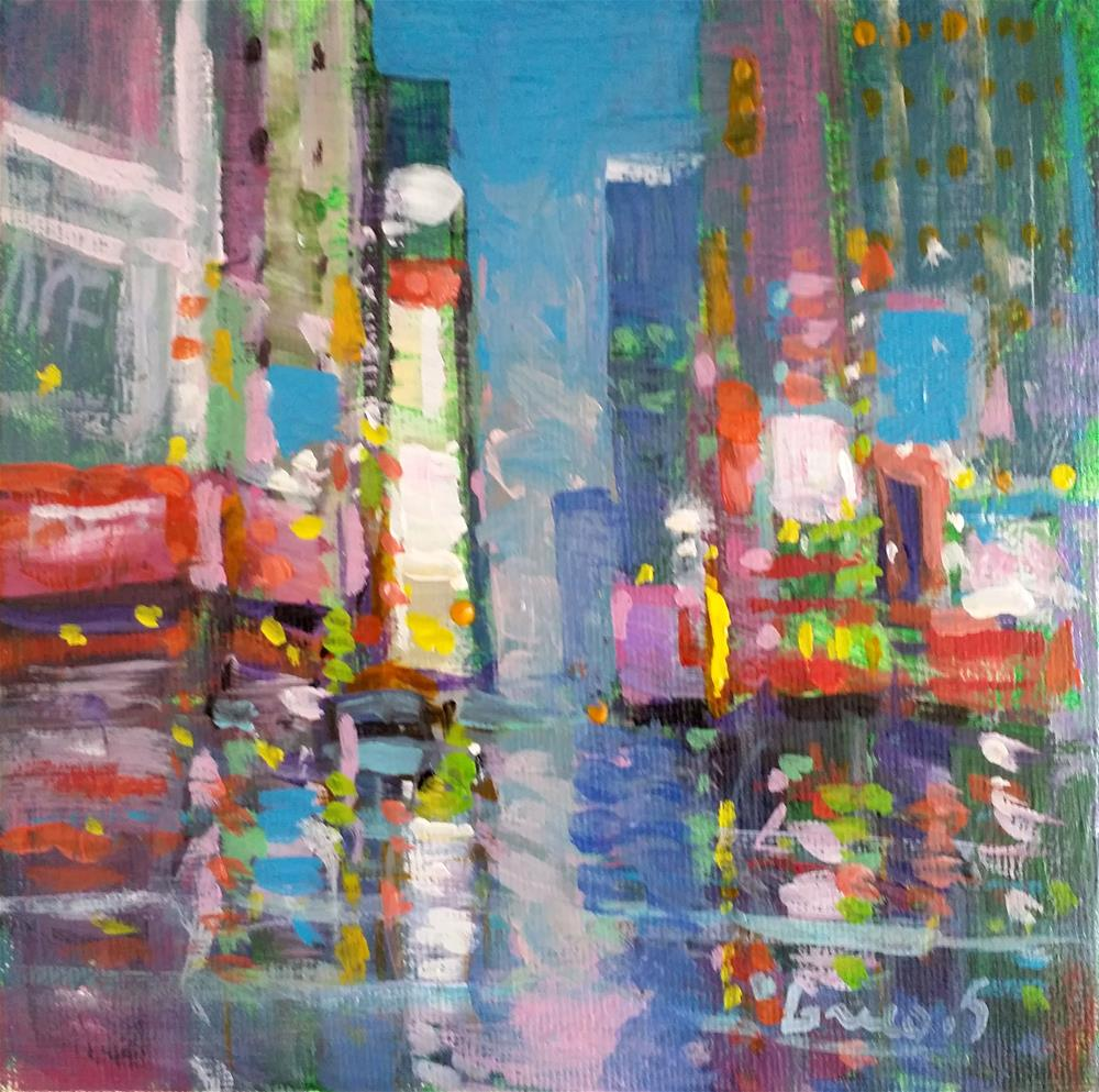 """New-York # 8"" original fine art by salvatore greco"