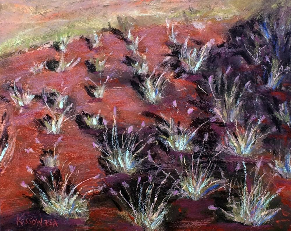 """Chilean Lavender"" original fine art by Cristine Kossow"