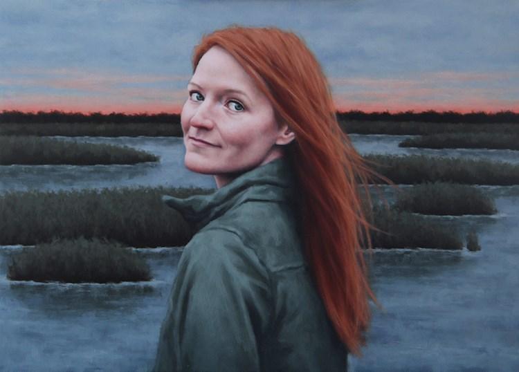 """Winter Solstice"" original fine art by Sarah Becktel"