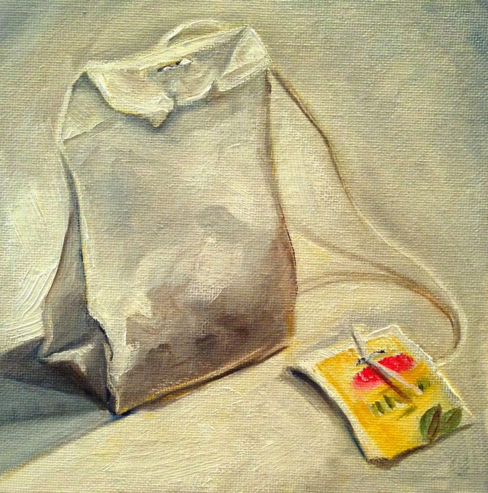 """Lipton Green Tea"" original fine art by Beth Moreau"