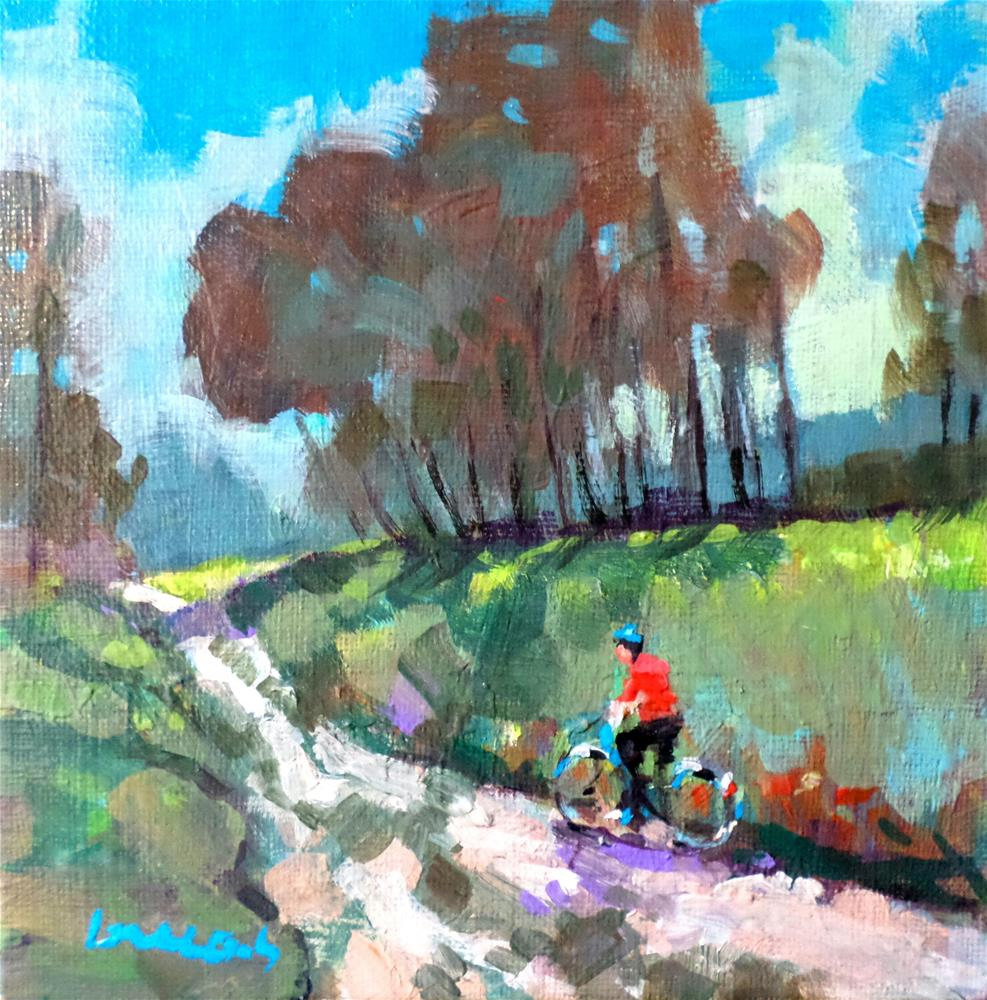 """The path"" original fine art by salvatore greco"