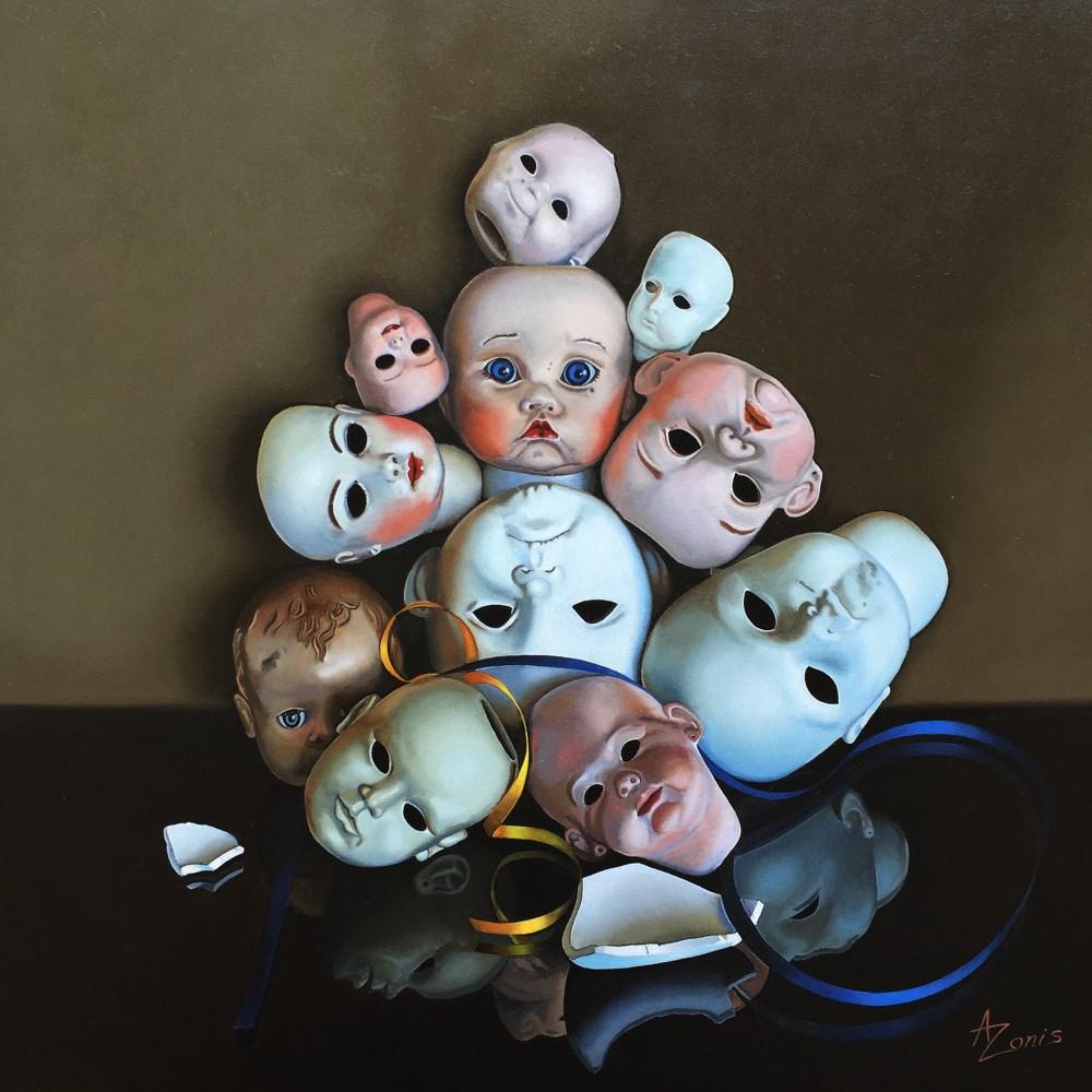 """""""Group Portrait"""" original fine art by Alex Zonis"""