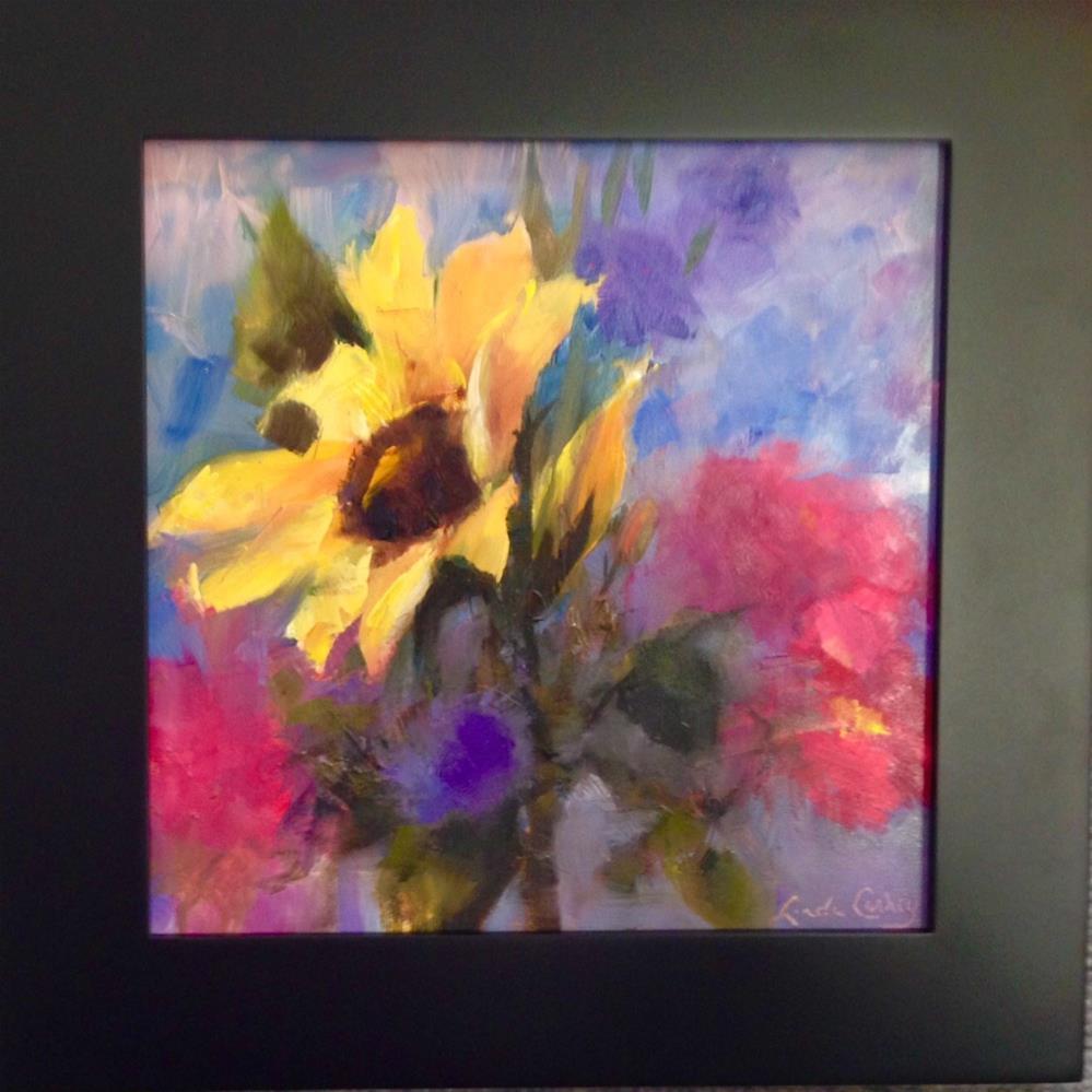 """""""Show Off"""" original fine art by Linda Carney"""
