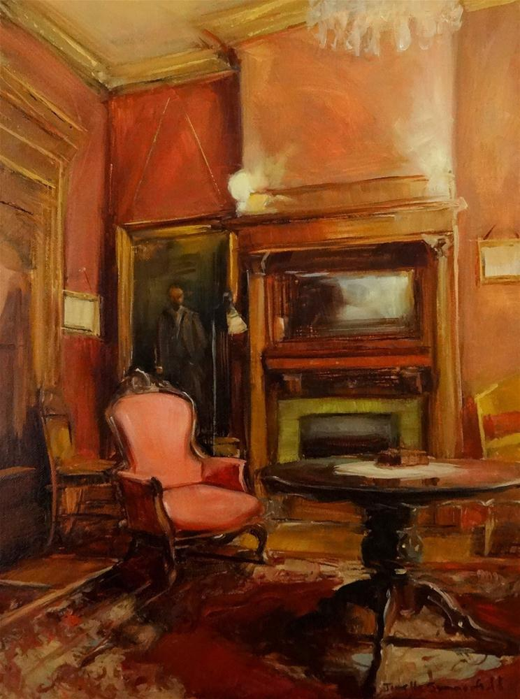 """Drawing Room II"" original fine art by Jonelle Summerfield"