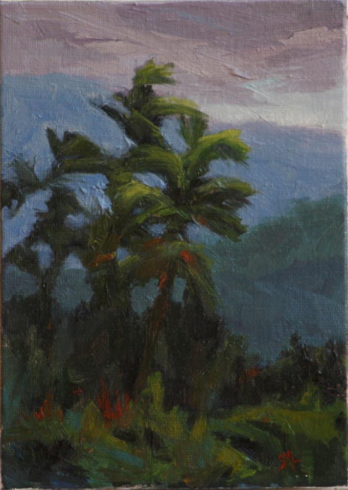 """Palm"" original fine art by Sheila Marie"