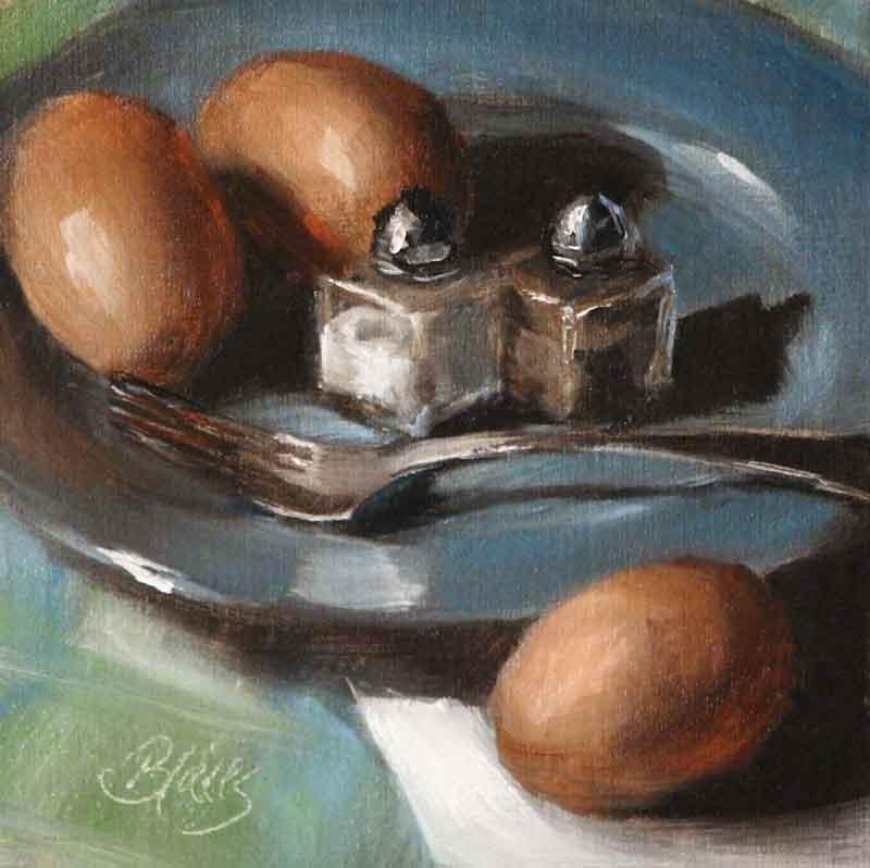 """Farm Fresh"" original fine art by Pamela Blaies"