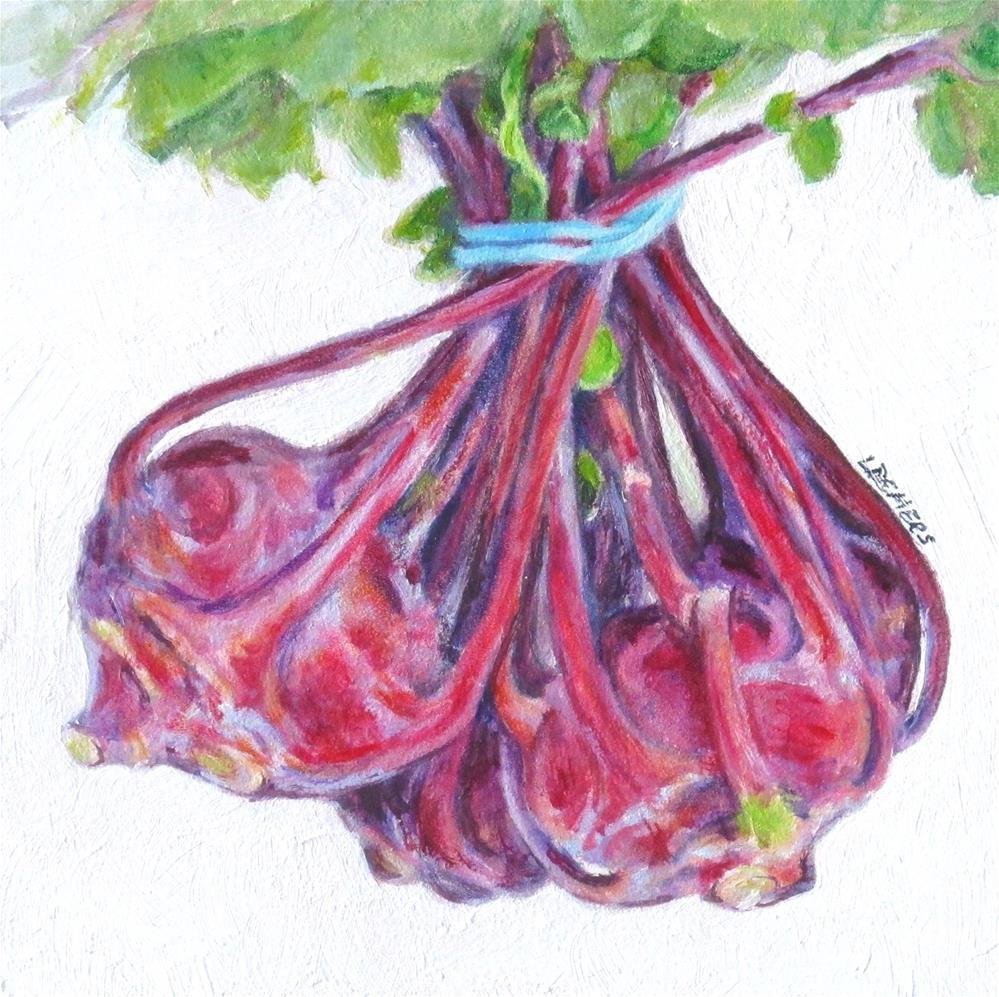 """Kolrabi Study"" original fine art by Linda Demers"