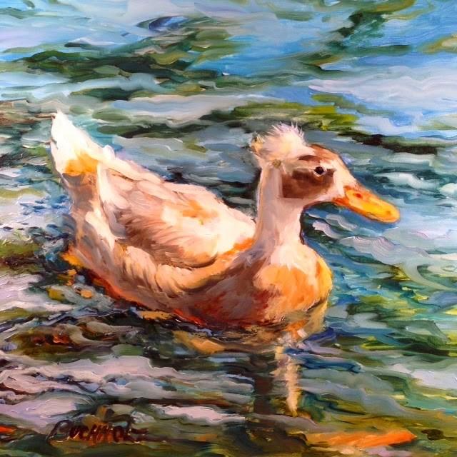 """Updo"" original fine art by Terri Buchholz"