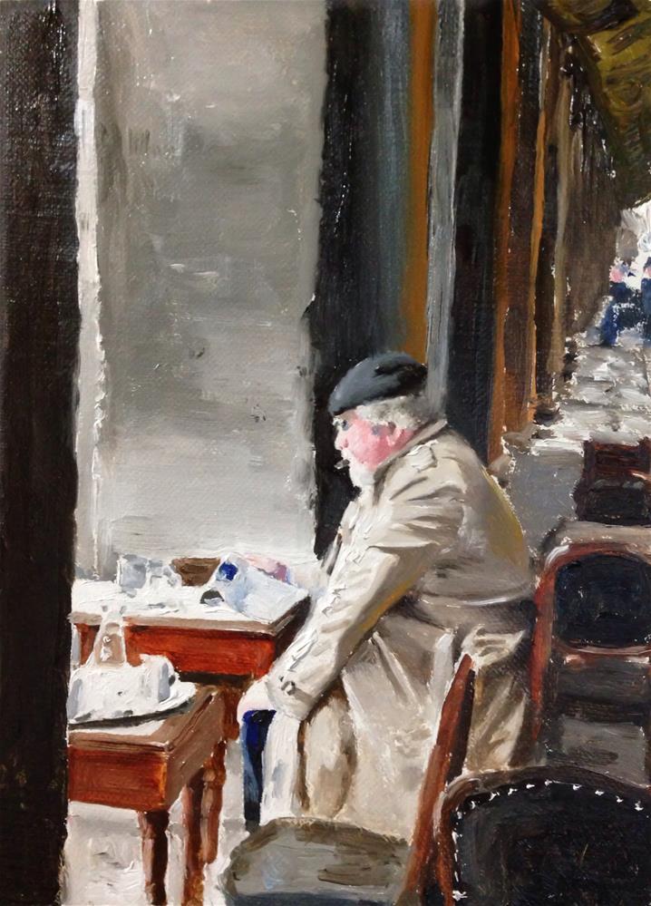 """Regret"" original fine art by James Coates"