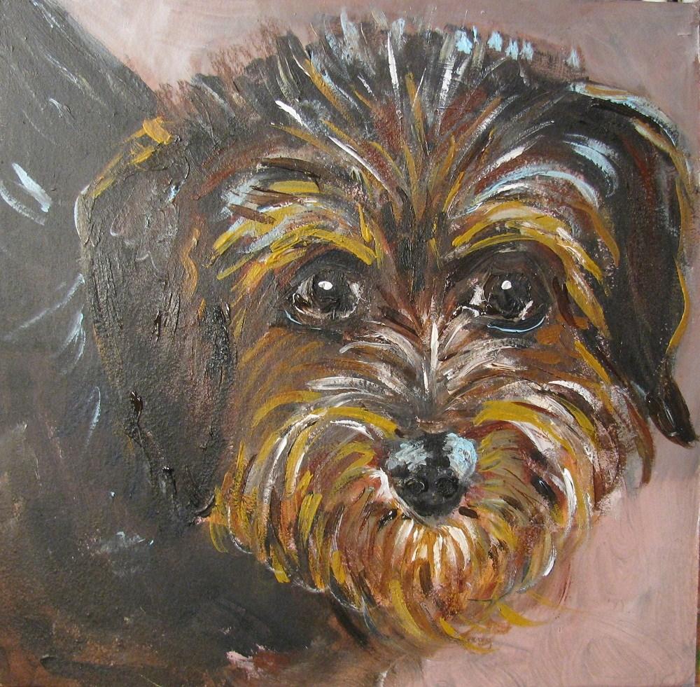 """Nannie Nutmeg"" original fine art by Susan Elizabeth Jones"