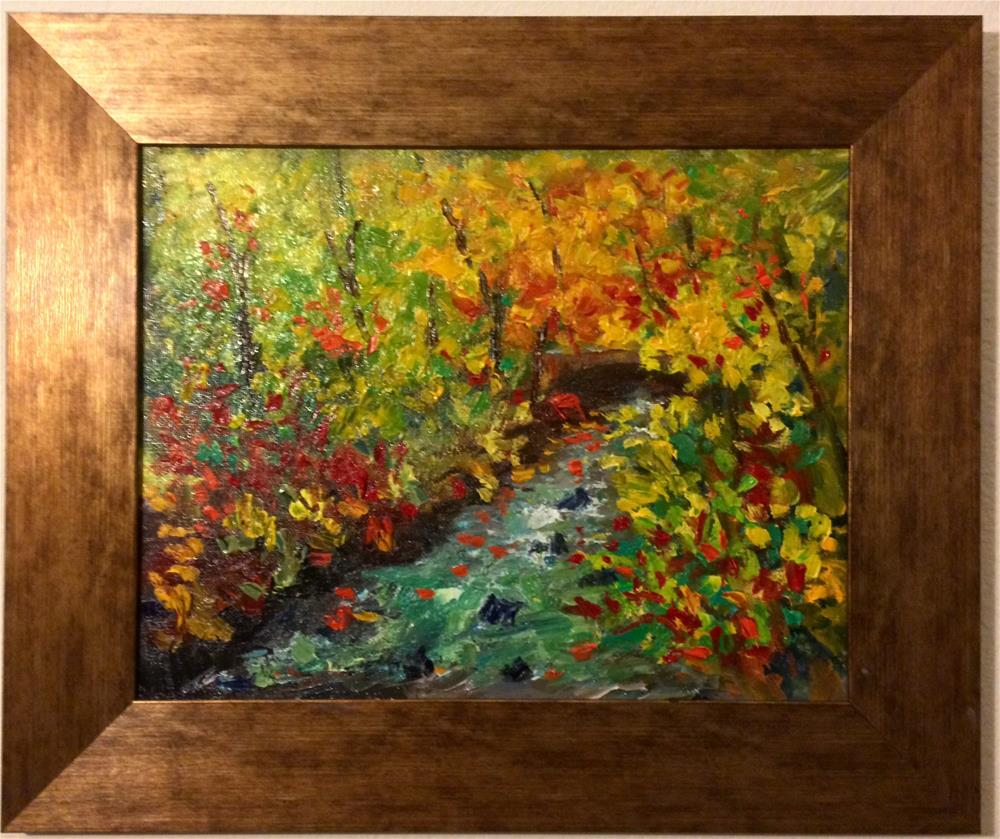"""Fall colors"" original fine art by Ramya Sarveshwar"