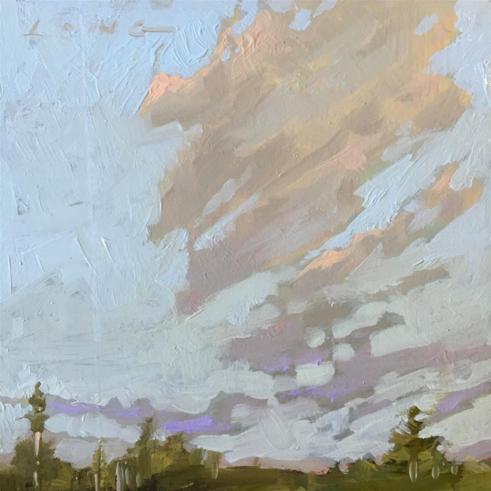 """Cloud Composition #1"" original fine art by Chris Long"