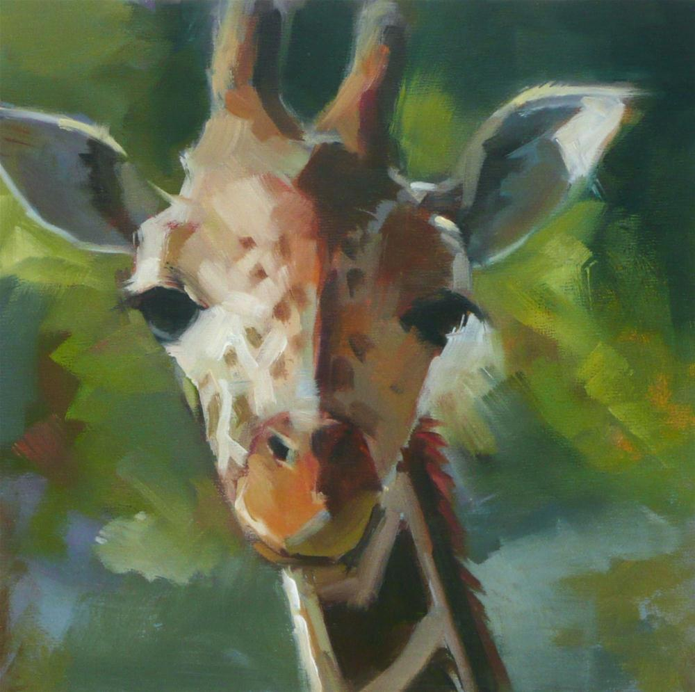 """Those Eyes"" original fine art by Dana Cooper"