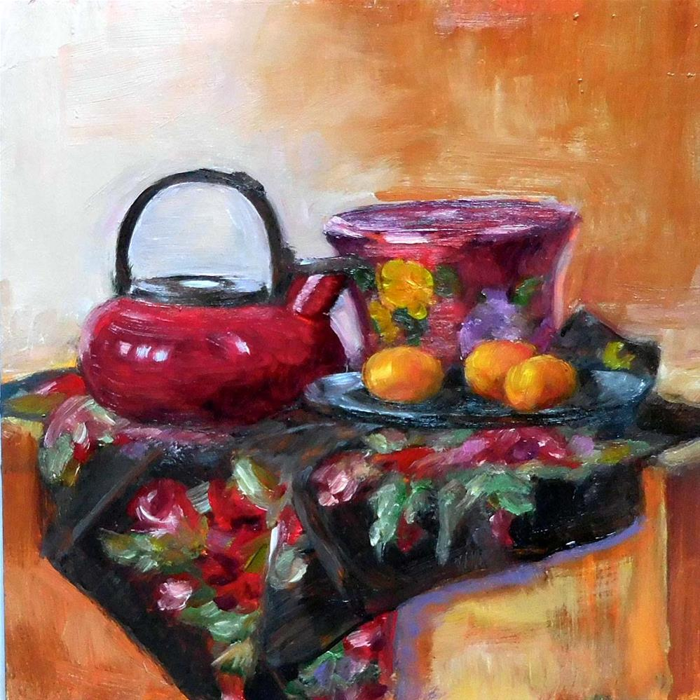 """Fiesta Colors"" original fine art by Cietha Wilson"