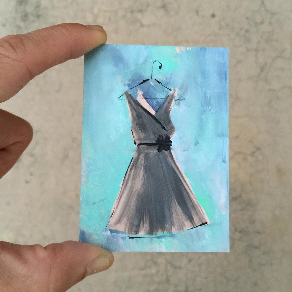 """""""33 Tiny Black Dress"""" original fine art by Jenny Doh"""