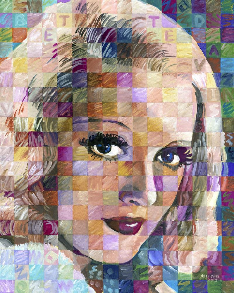 """Bette Davis"" original fine art by Randal Huiskens"