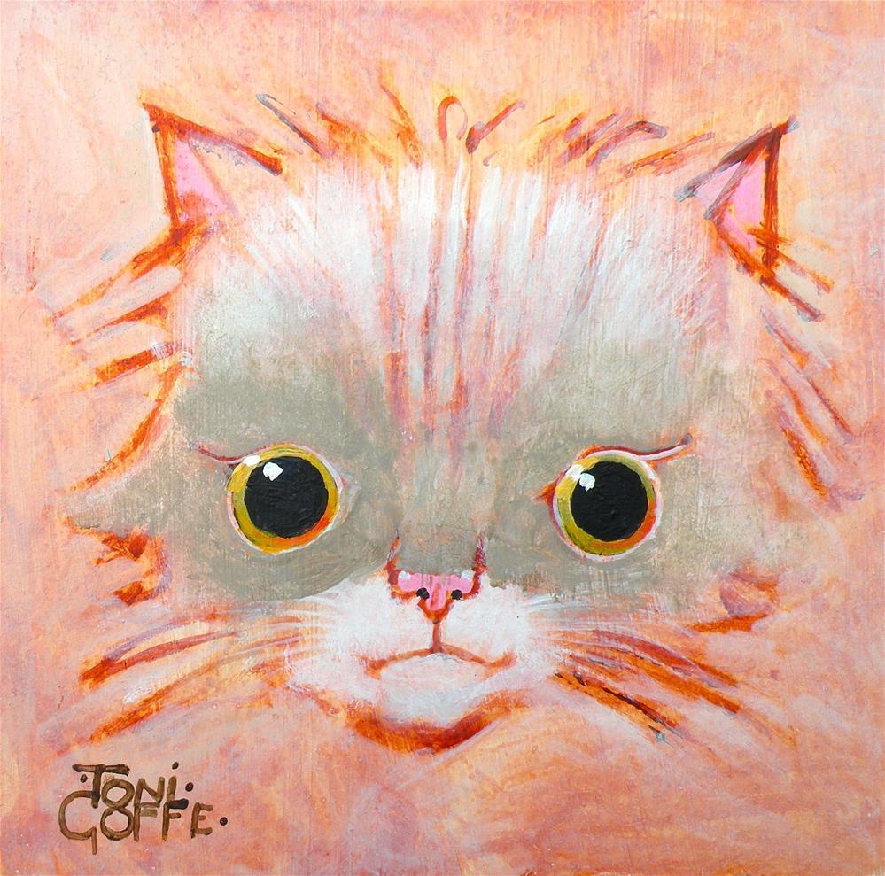 """""""Kitten Sketch"""" original fine art by Toni Goffe"""