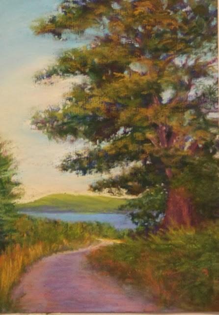 """Road to Talisker"" original fine art by Sharon Lewis"