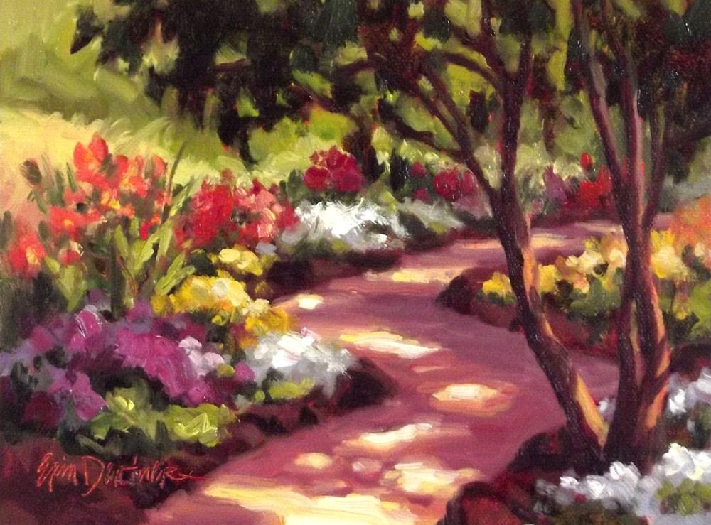 """""""Dappled Light"""" original fine art by Erin Dertner"""