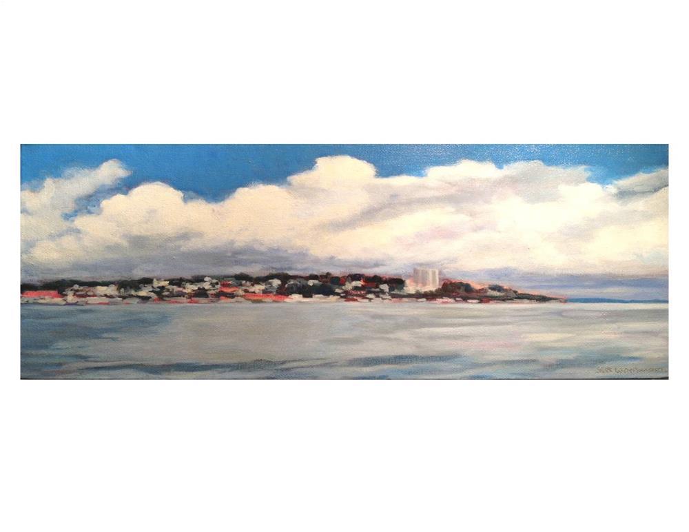 """Portland Harbor"" original fine art by Suzanne Woodward"