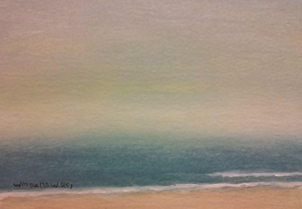 """Coastal Maine #1"" original fine art by Joe Wojdakowski"