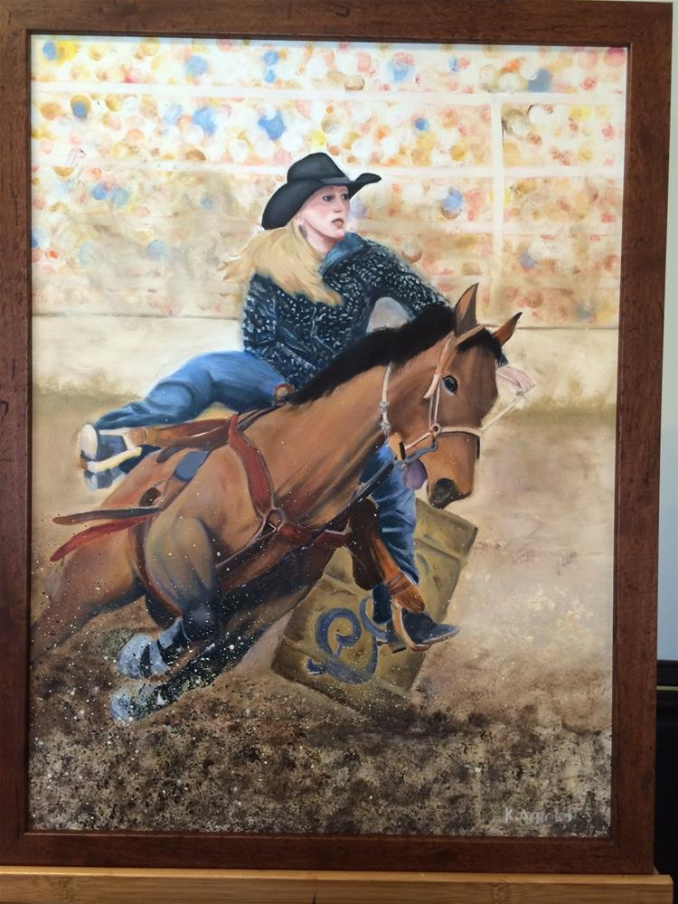 """""""Rodeo"""" original fine art by Kenny Arnold"""