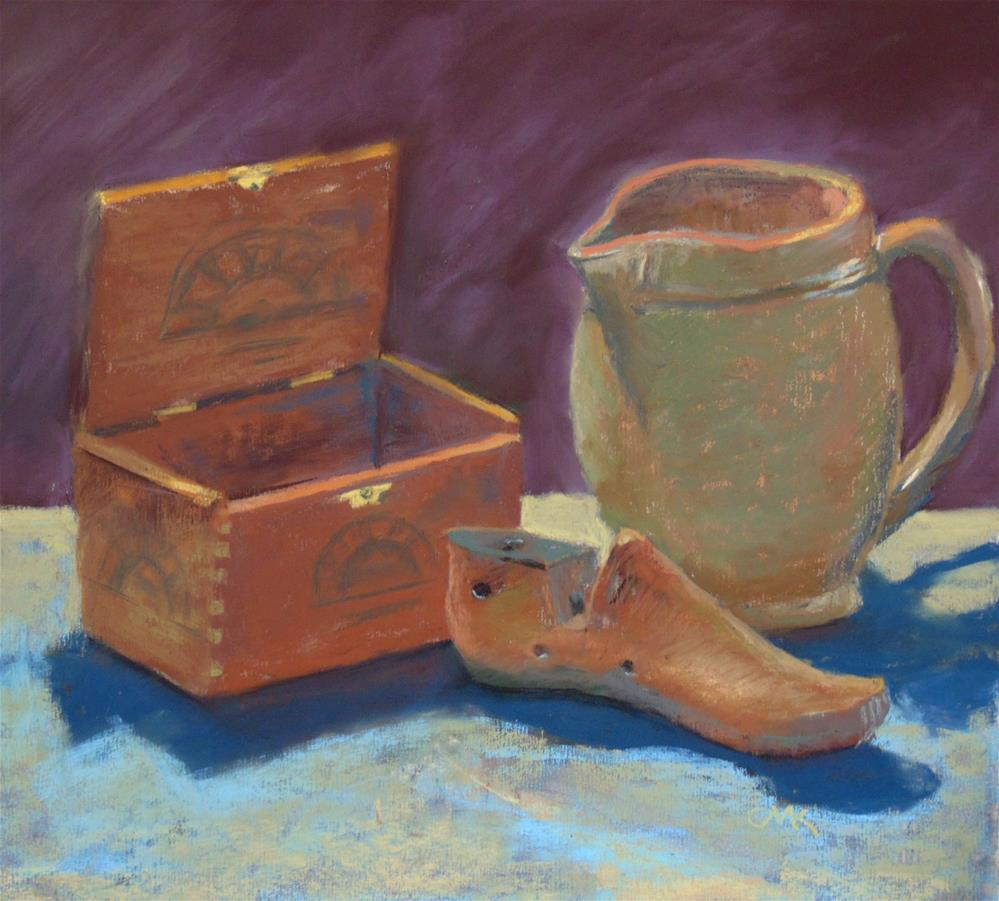 """Cobbler's mold"" original fine art by Catherine Kauffman"