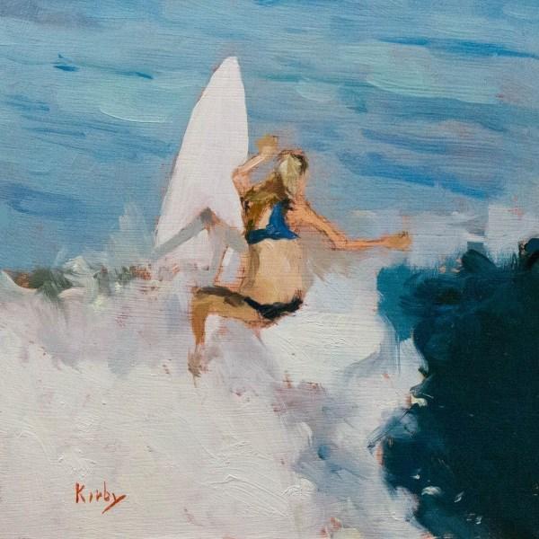 """Erica Hosseini"" original fine art by Randall Cogburn"