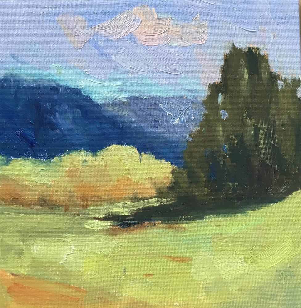 """Valley Green"" original fine art by Victoria  Biedron"
