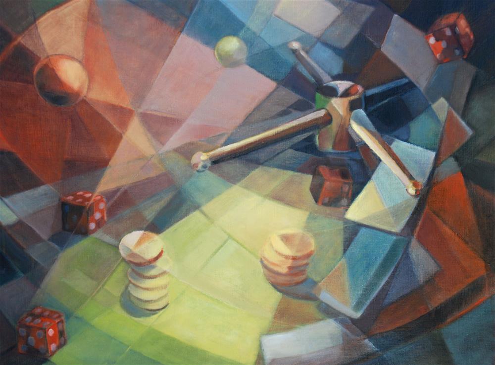 """Rien ne va plus"" original fine art by Olga Touboltseva-Lefort"