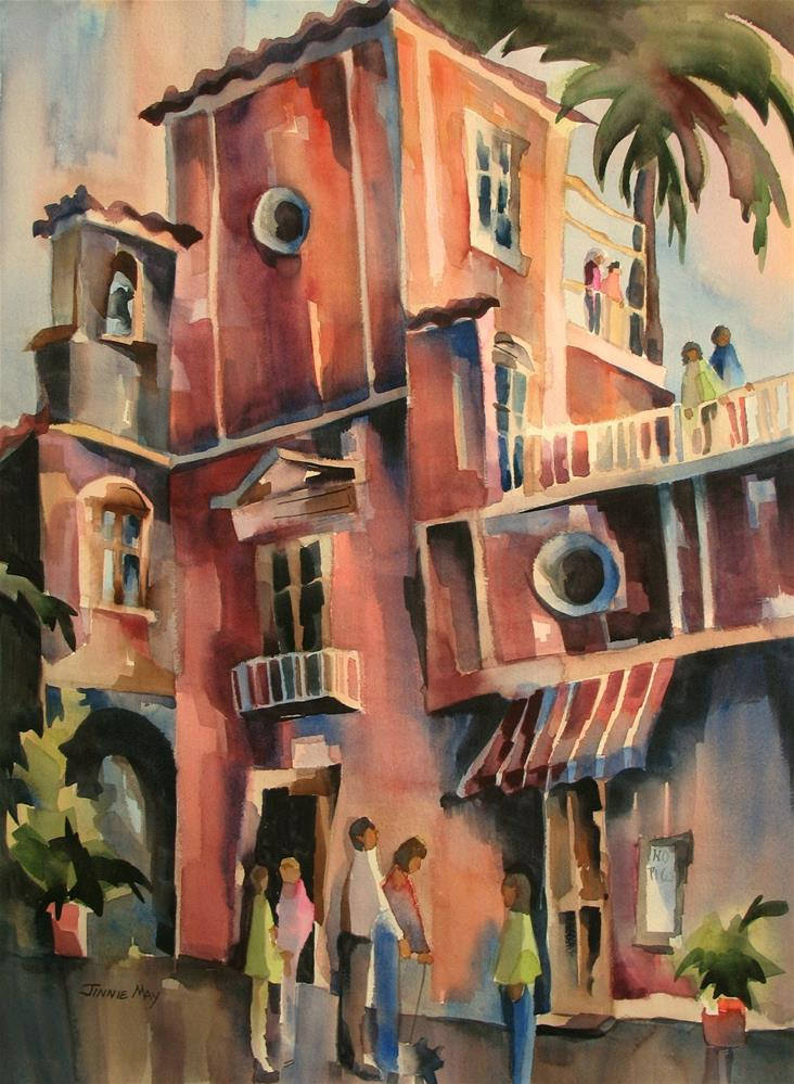 """Ravello, Italy"" original fine art by Jinnie May"