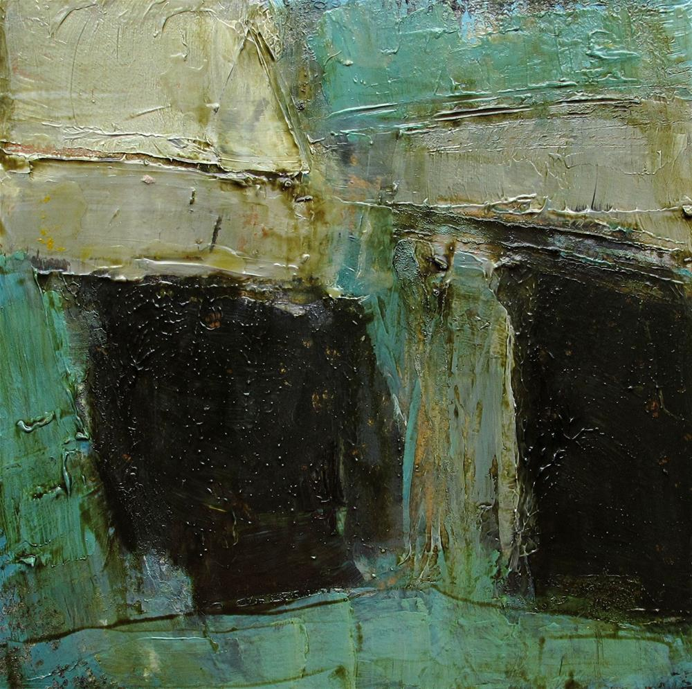 """Abstract Expression Contemporary Original Modern Art Colette Davis Painting OIL"" original fine art by Colette Davis"