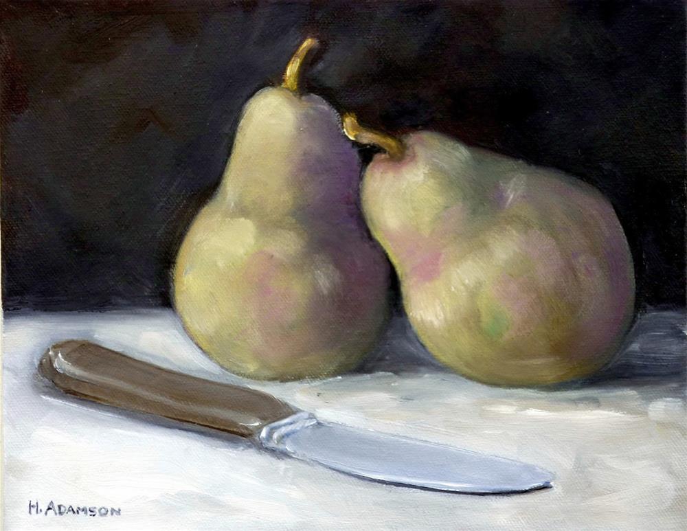 """Dessert"" original fine art by Helene Adamson"