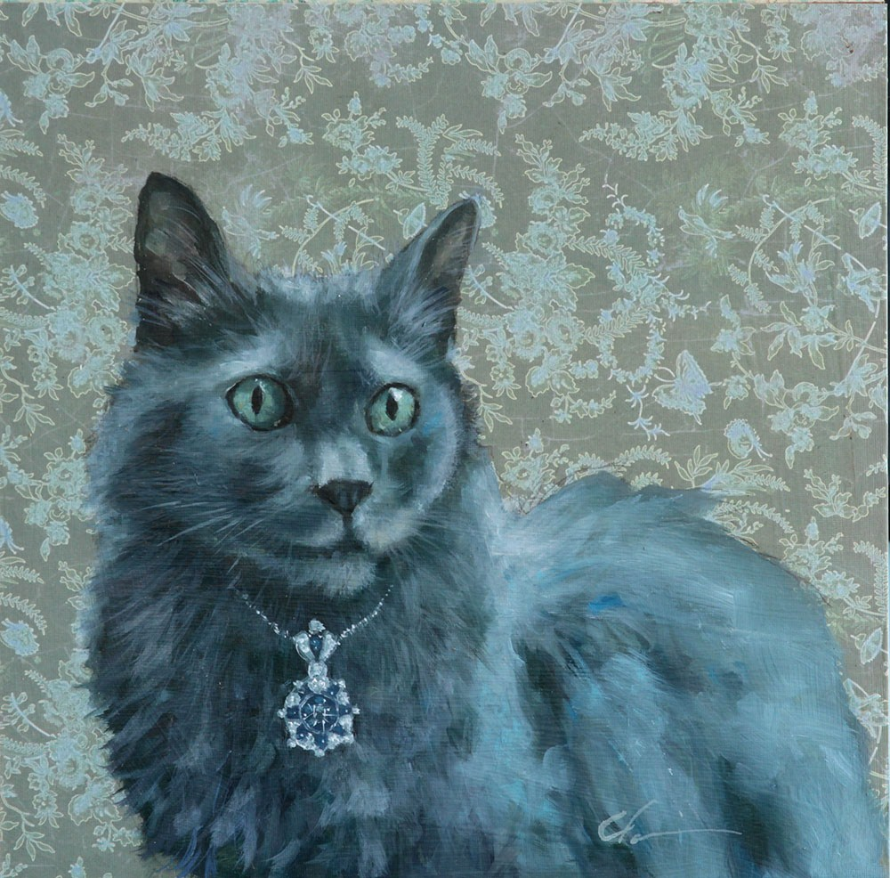 """Mary Frances"" original fine art by Clair Hartmann"