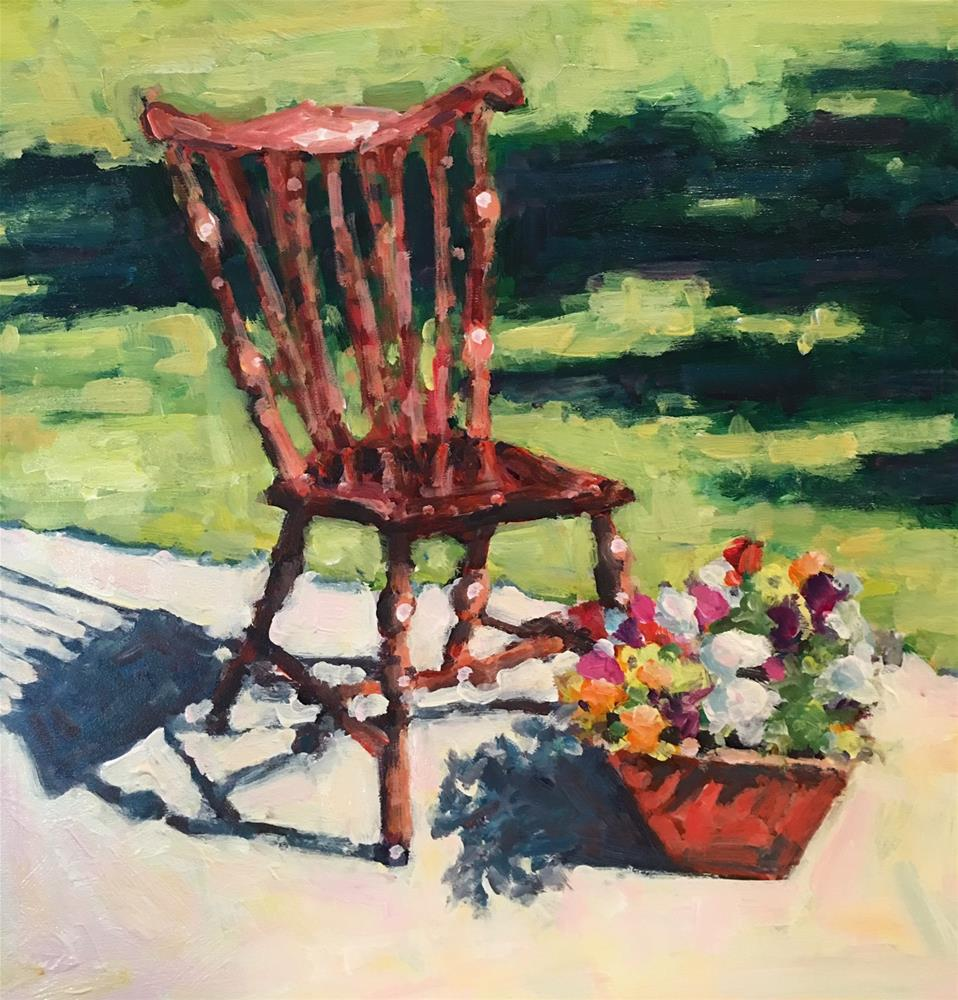 """Summer Shadows"" original fine art by Shelley Garries"