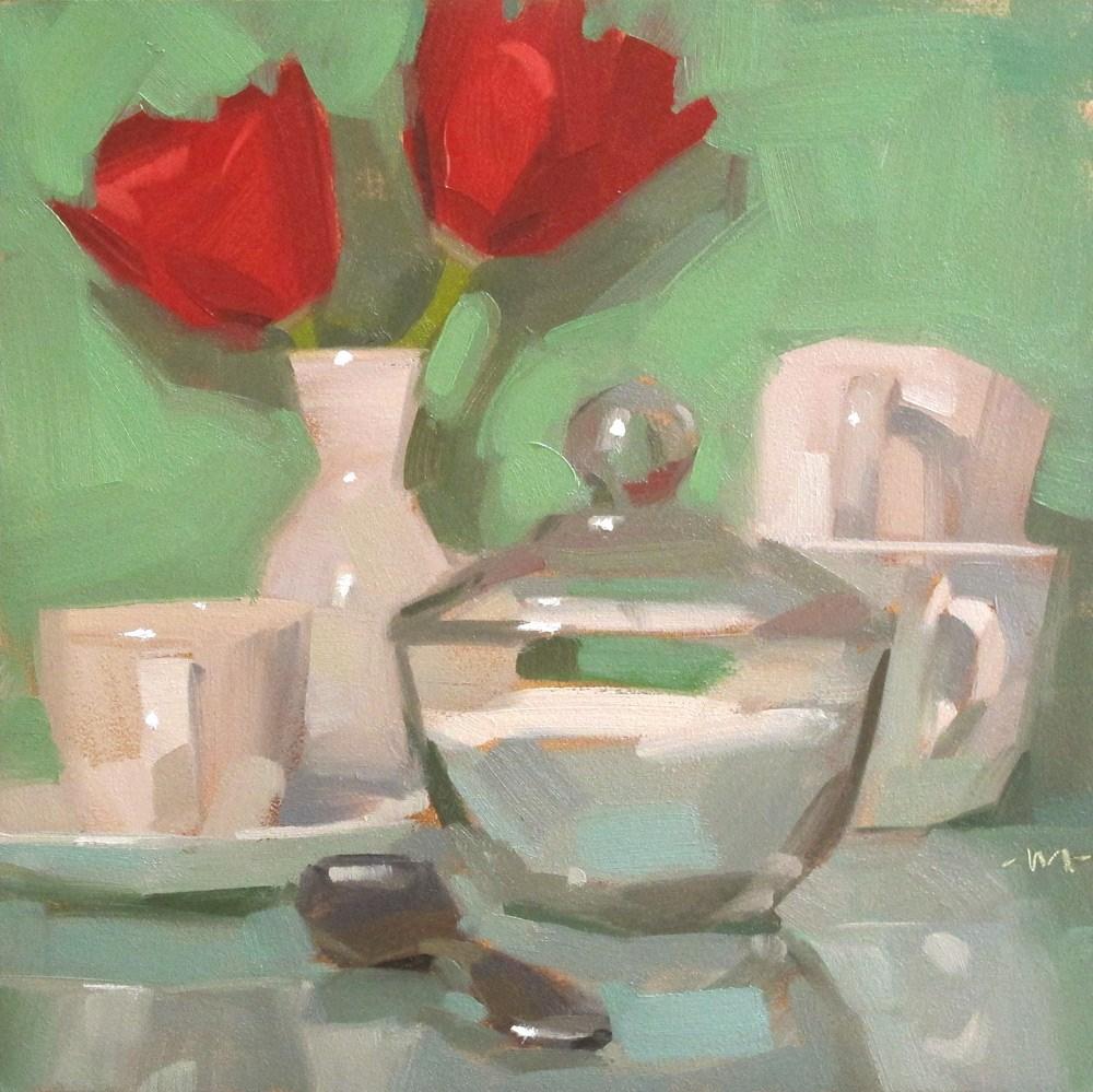 """Sugaraholic"" original fine art by Carol Marine"
