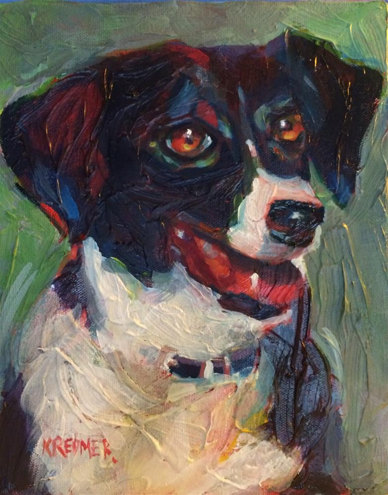 """Lacey"" original fine art by Kathleen Redmer"