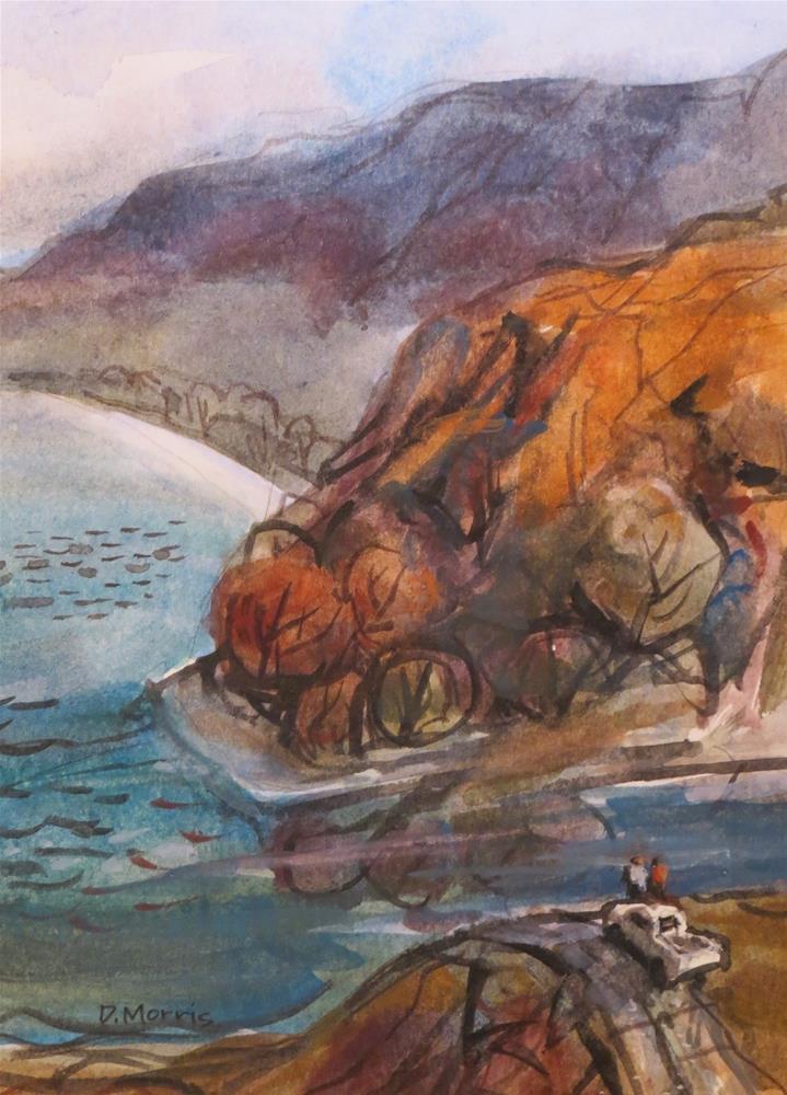"""Vista Ridge"" original fine art by Dann Morris"