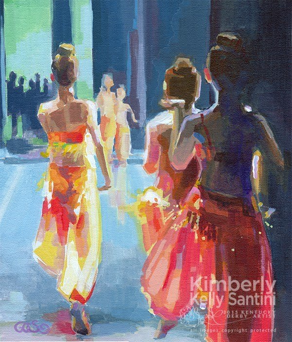 """A Whole New World"" original fine art by Kimberly Santini"