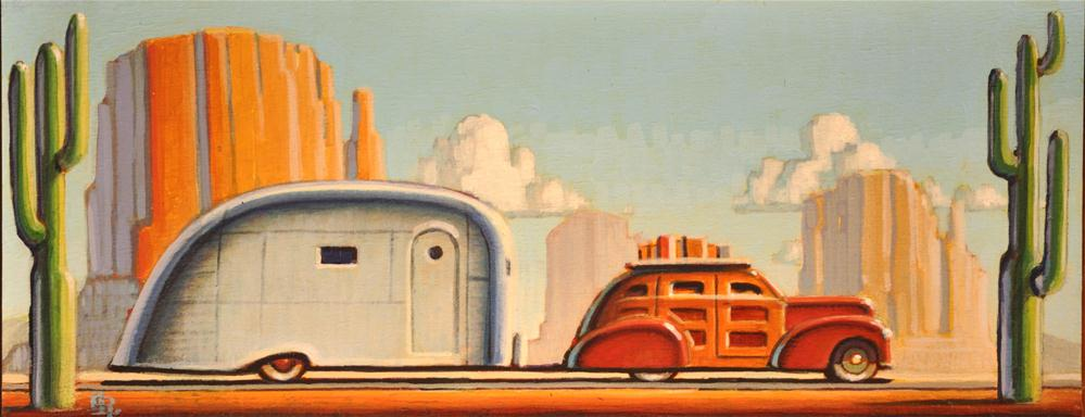 """South West"" original fine art by Robert LaDuke"