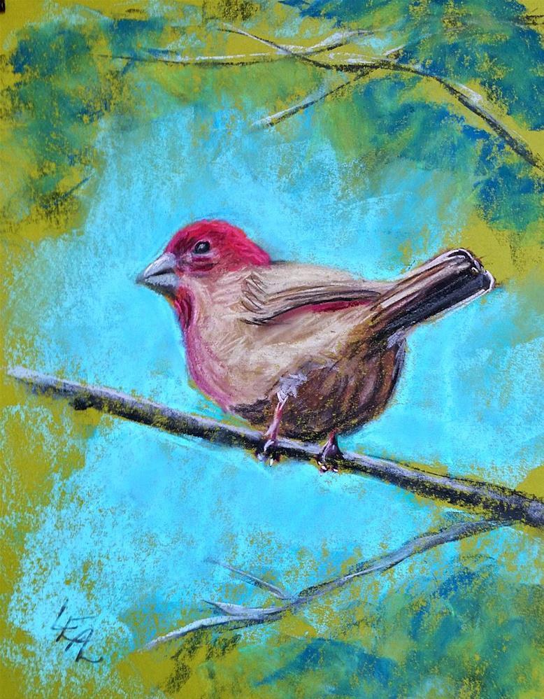 """Raspberry Jam"" original fine art by Anna Lisa Leal"