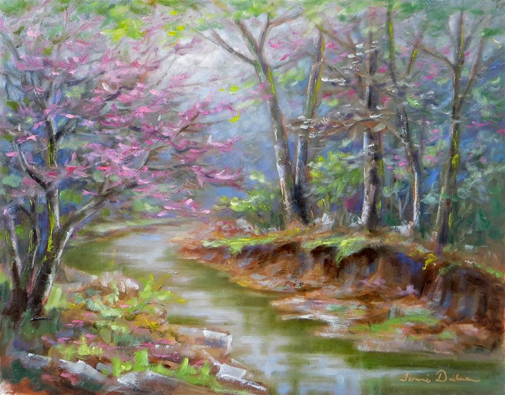 """""""Spring at Femme Osage"""" original fine art by Tammie Dickerson"""
