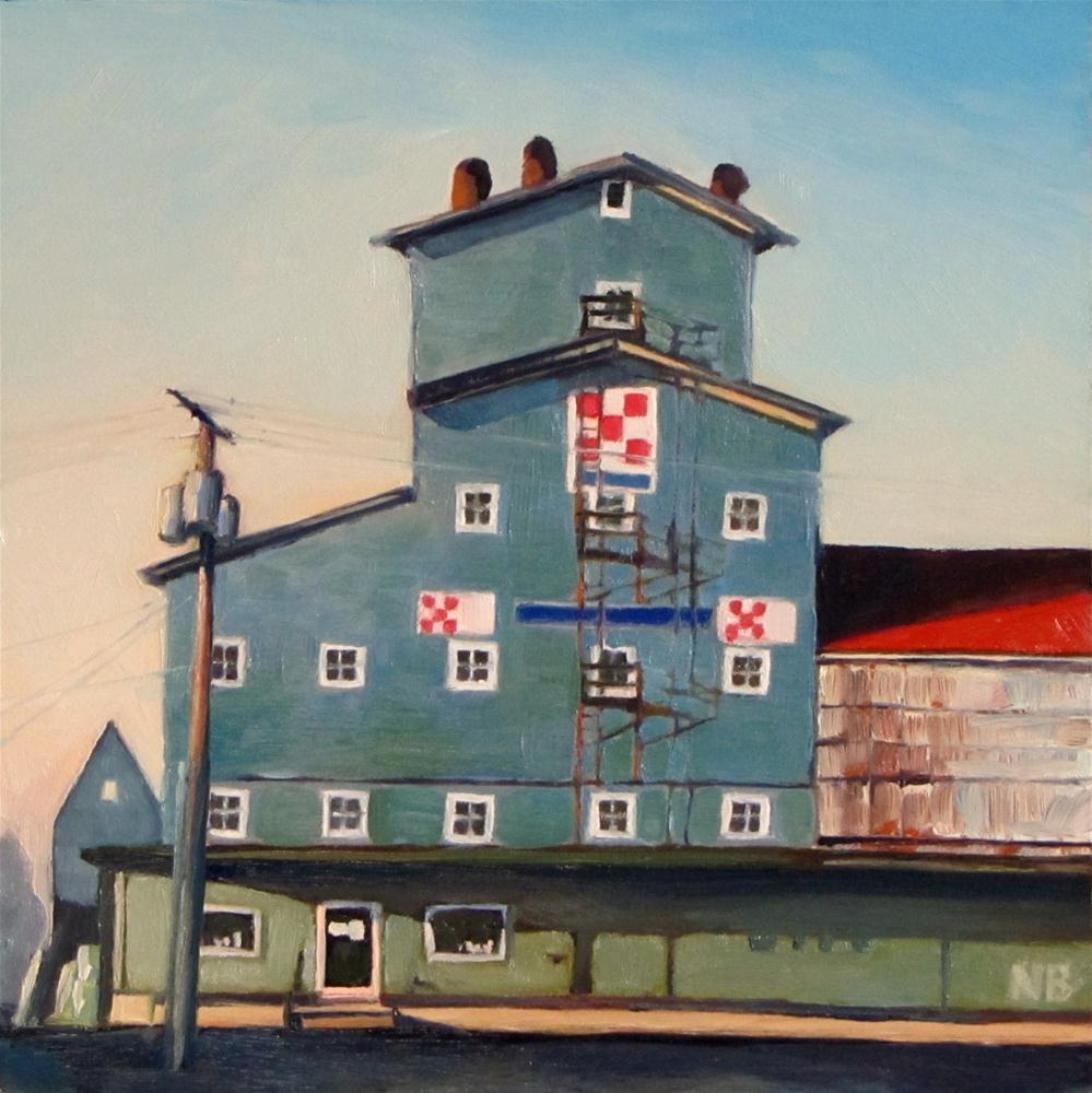 """""""McMinnville Tower"""" original fine art by Nora Bergman"""