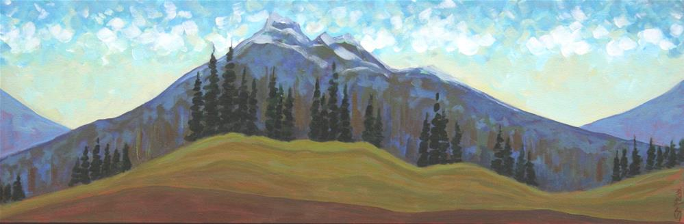 """In the Clouds"" original fine art by Sage Mountain"