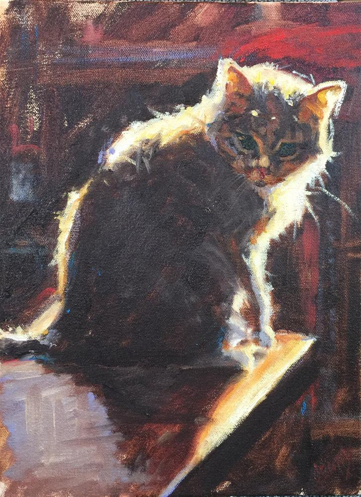 """Cleo II"" original fine art by Jenny Buckner"