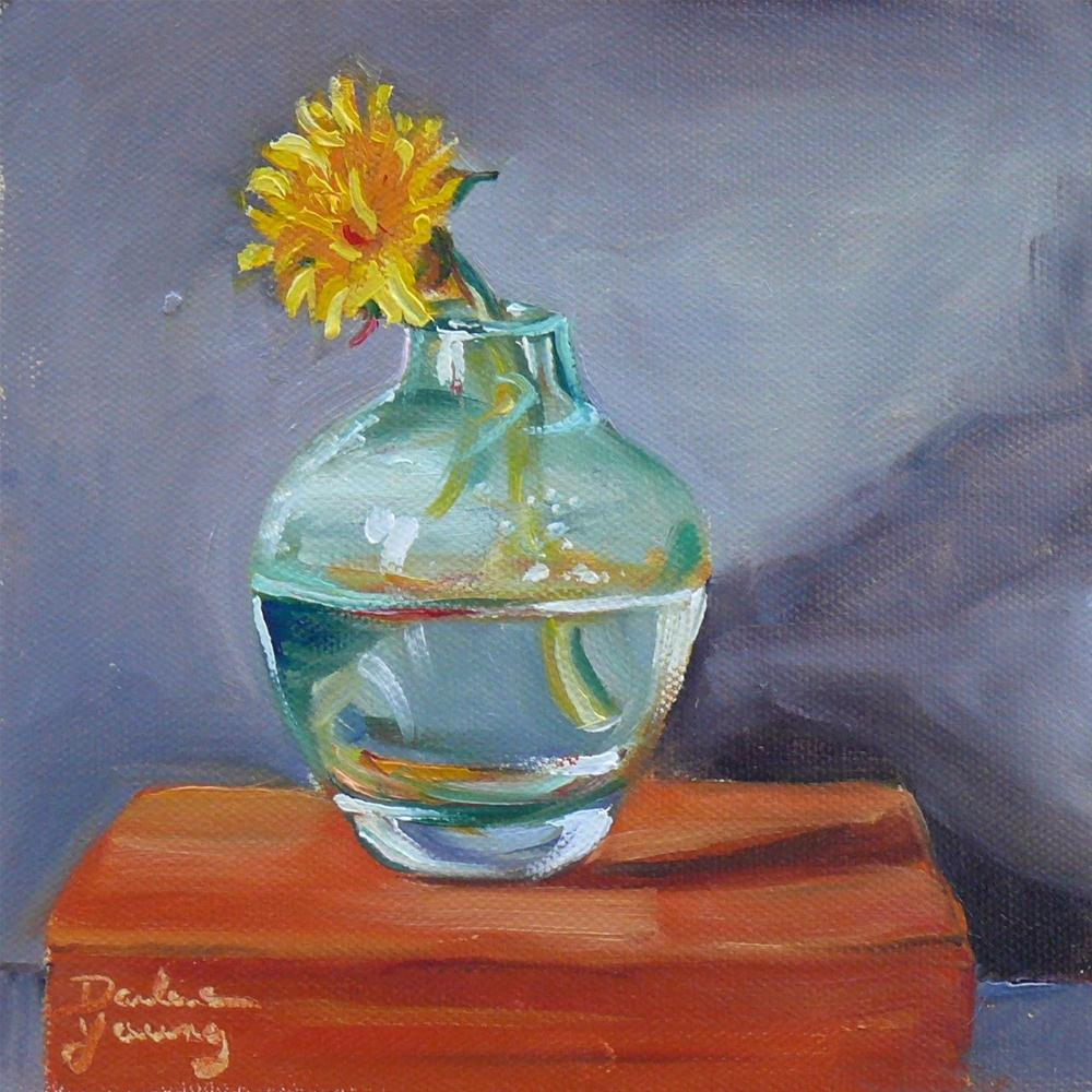 """Dandelion"" original fine art by Darlene Young"