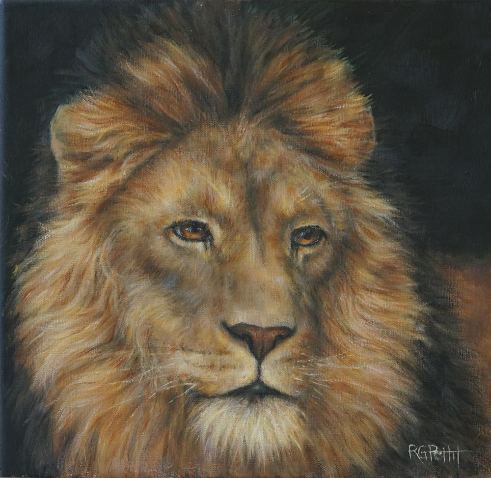 """In memory of Cecil"" original fine art by Rhea  Groepper Pettit"