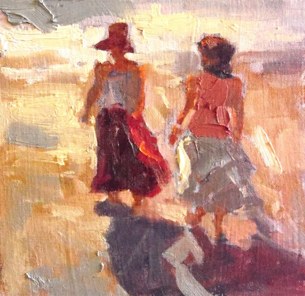 """Into the Sunset"" original fine art by Michael Clark"