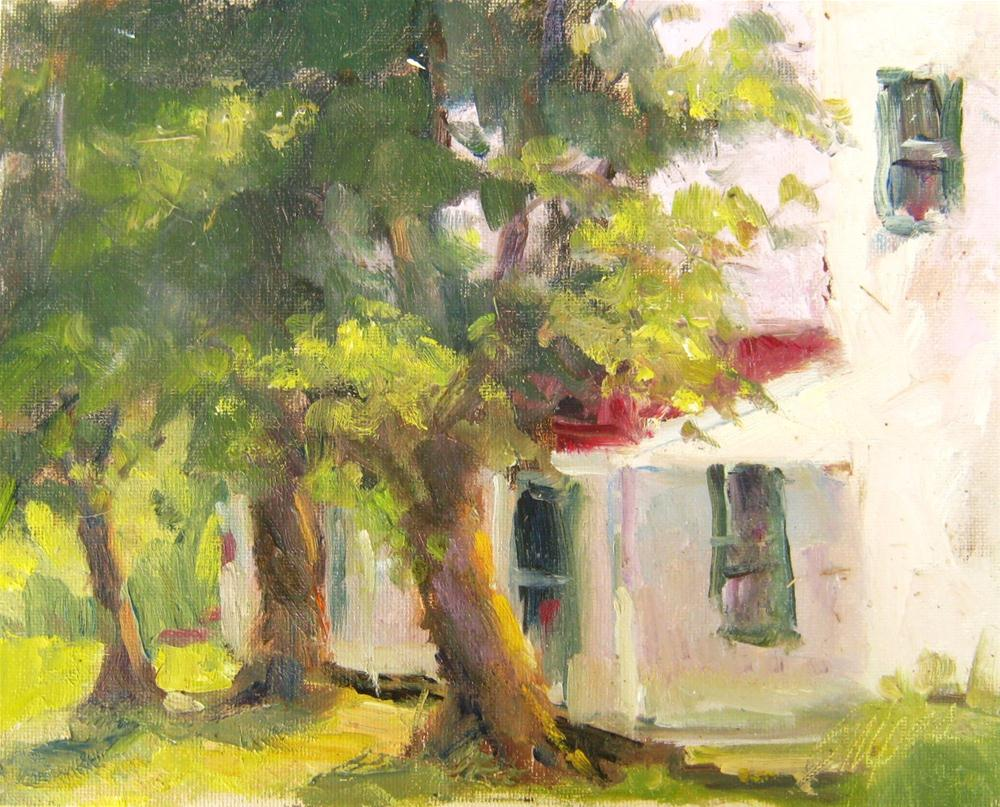 """Nimrod Hall, Virginia"" original fine art by Connie Snipes"